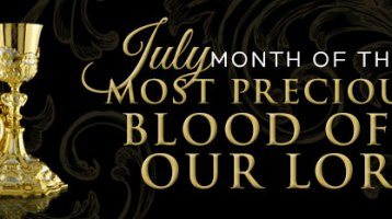 July: Month of The Precious Blood of Jesus