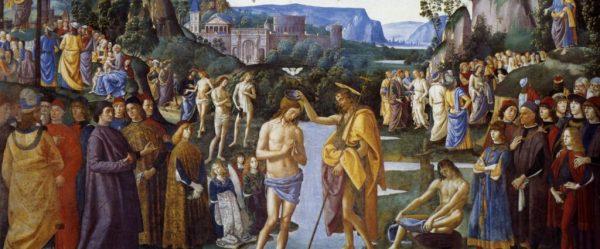 baptism of Christ in the Jordan