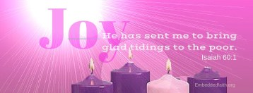 The Joy Candle Third Sunday of Advent