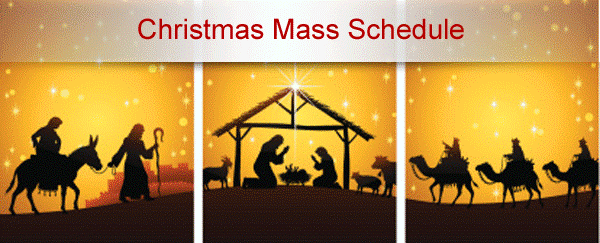 Xmas Mass Schedule