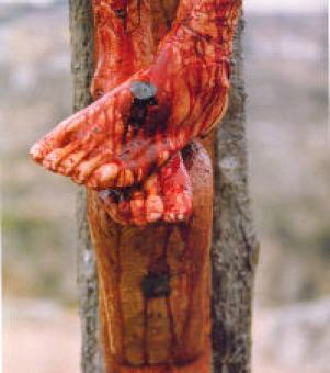 Christ's Blood on the Cross