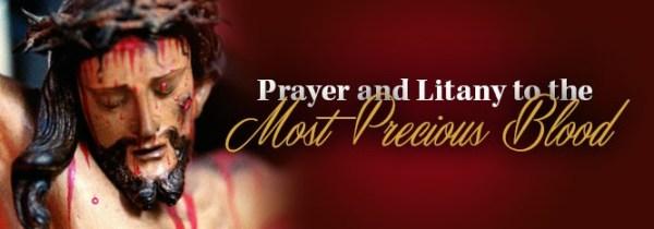 Prayer Most Precious Blood