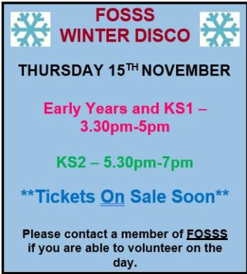 Fosss Winter Disco