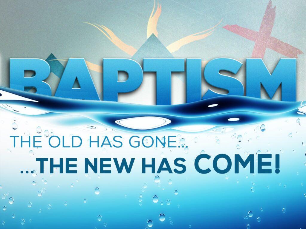 Baptism Programme – 07-04-2019