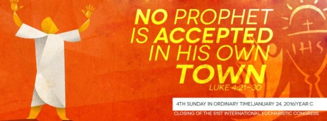 No Prophet in his own country