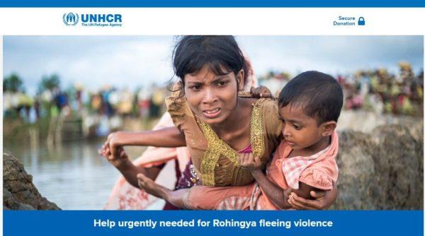 Rohingha Muslims