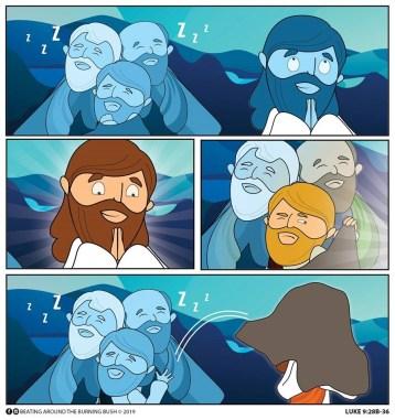 Cartoon The Transfiguration