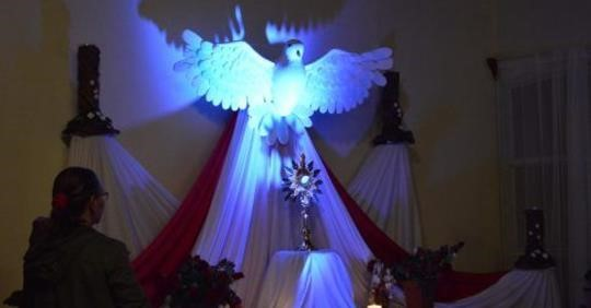 April Holy Spirit