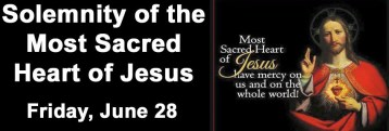 Solemnity of the Most Sacred Heart of Jesus - Friday 28th June 2019