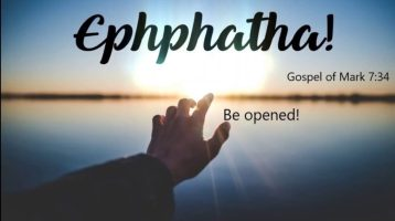 Newsletter: 5th September 2021 - 23rd Sunday of Ordinary Time Year B
