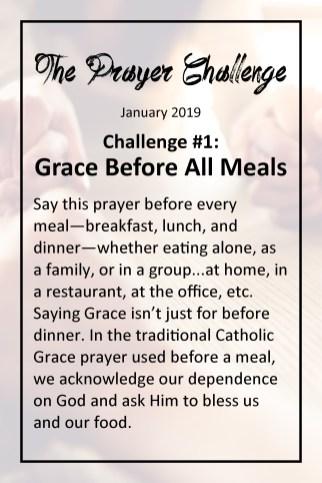 the prayer challenge st