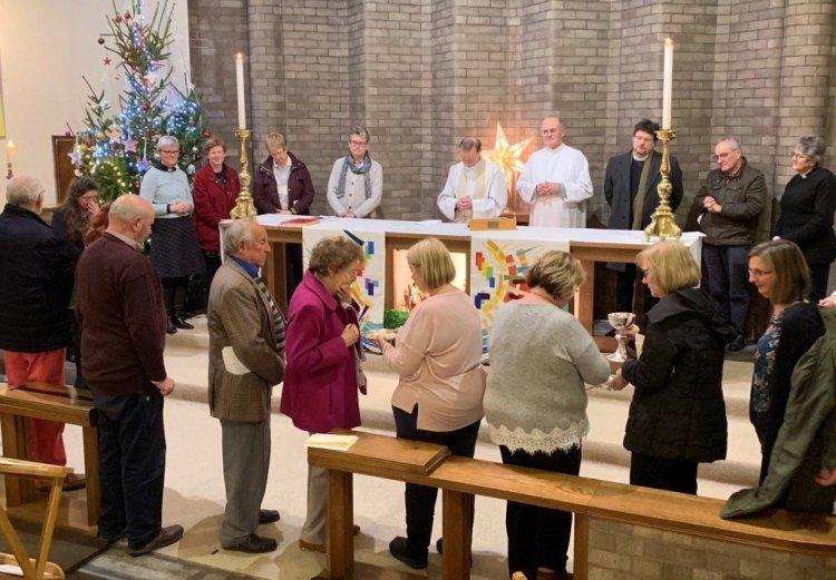 Pilgrim Community Commitment Service in January 2019