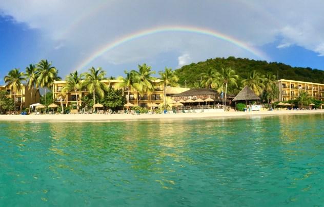 St Thaoms dive resort