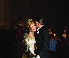 Nathan Gunn and Renee Fleming in scene from 'Merry Widow'