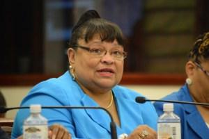 Education Commissioner Sharon McCollum (File photo)