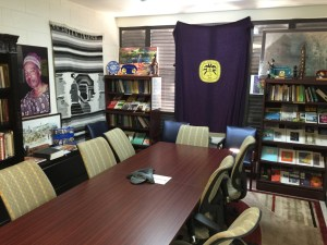 VICCC office at the University of the Virgin Islands on St. Croix. (Image provided by VICC Executive Director Chenzira Kahina)