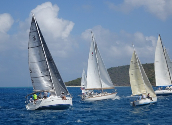 25th Annual Regatta Draws Boats From Across The Virgin