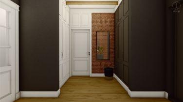 Projekt wnętrza domu w Otominie k. Gdańska - Projekt: Pracownia STTYK, Joanna Polewczak, Natalia Wańkowicz - Wizualizacja 1