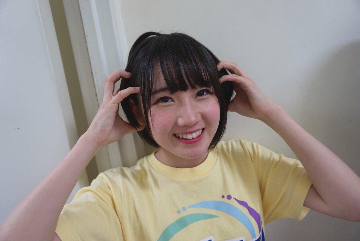 STU48 今村美月『STUDIOポーズして あってなってるりんご心愛٩(◜ᴗ◝ )۶』