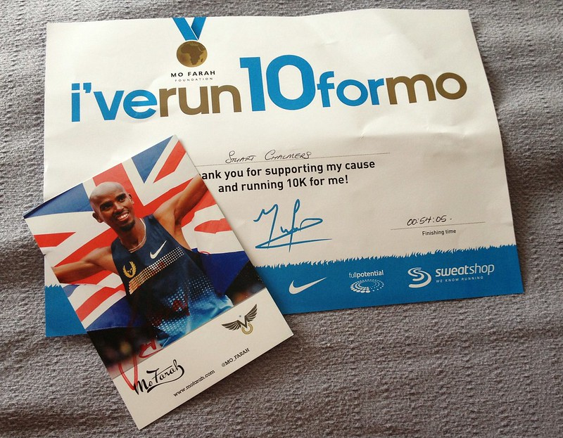 I've run 10 for mo