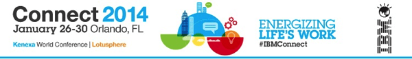 IBM Connect 2014 banner
