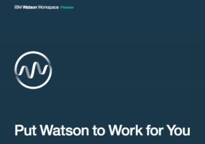 IBM Watson Workspace