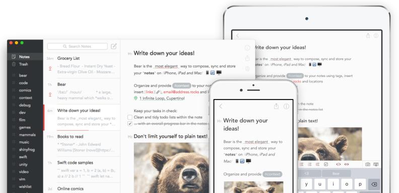 Bear screenshots