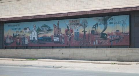 Woodward Mural