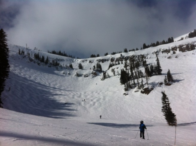 We skied this.