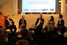 Panel on PR ethics at EACD Amsterdam forum