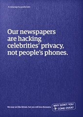 Our newspapers are hacking celebrities' privacy, not people's phones