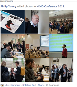 NEMO Conference 2013 curtousy of Philp Young