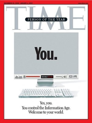 Time Magazine Person of the Year is You Mirror cover 2005