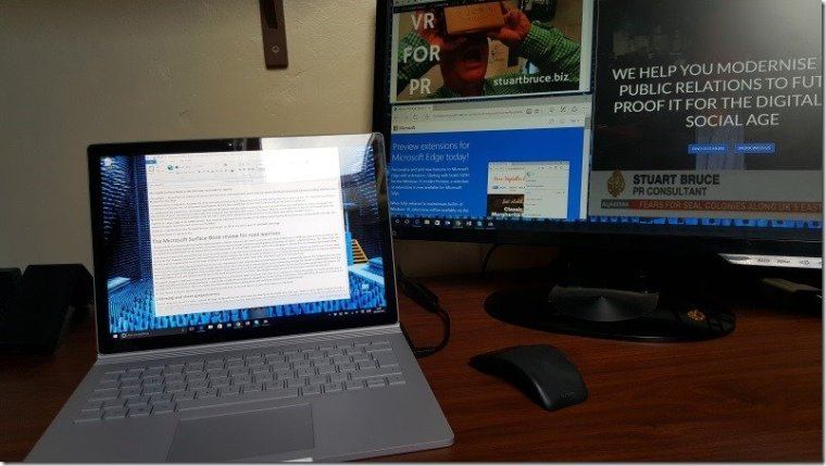 Microsoft Surface Book photo