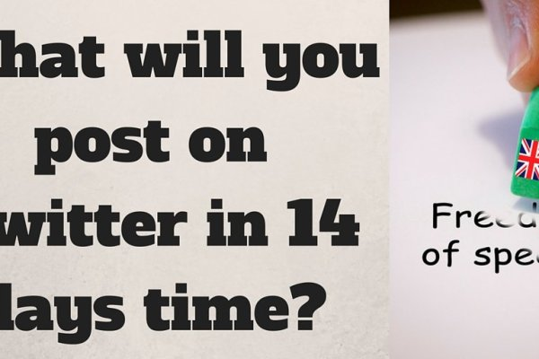 What will you post on Twitter in 14 days time? graphic