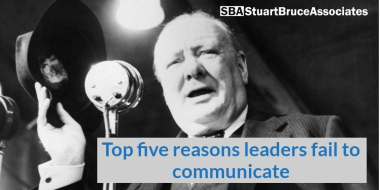 FIve reasons leaders fail to communicate photo