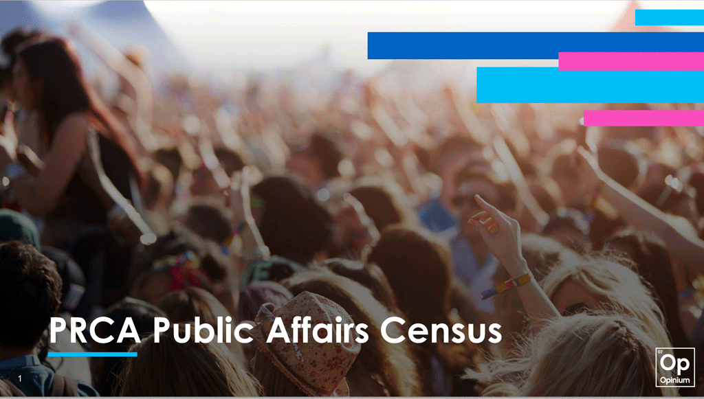 PRCA Public Affairs Census – Top 10 takeaways