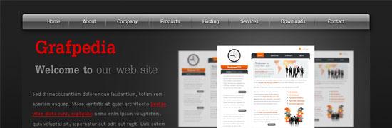 grafpedia-black-portfolio-layout