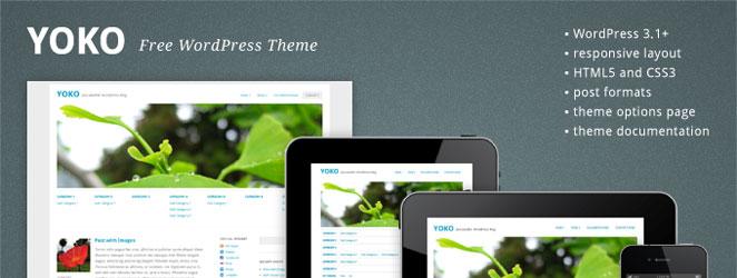 Yoko Responsive WordPress Theme Framework