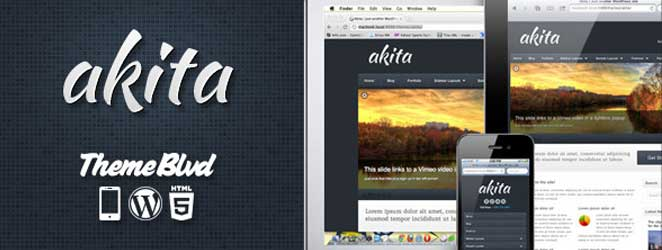 Akita Responsive WordPress Business / Corporate Theme