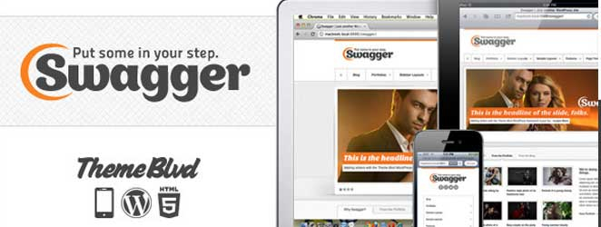 Swagger Responsive WordPress Business / Corporate Theme