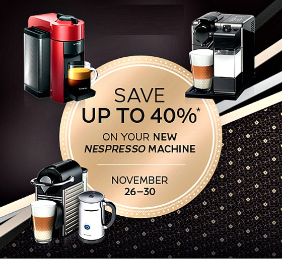 black friday sale discounts up to 40 off new machines