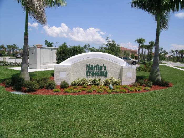 Martins Crossing real estate in Stuart FL