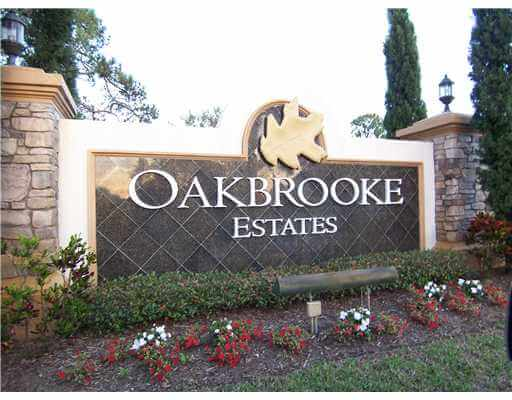 Oakbrooke Estates real estate in Palm City FL
