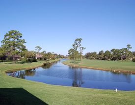Golf Views of Mariner Sands Golf Club in Stuart Florida