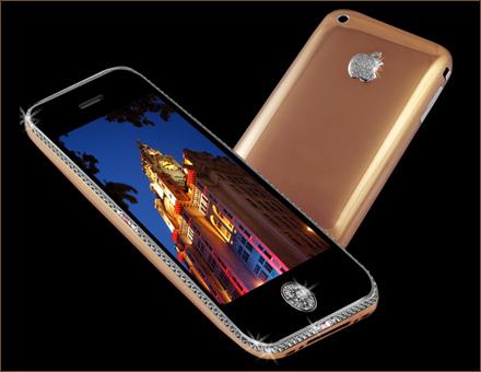 iPhone 3GS Supreme Rose - 5 Smartphone Termahal Di Dunia, Ini Mahal. Kau Tak Akan Kuat, Buat Aku Saja