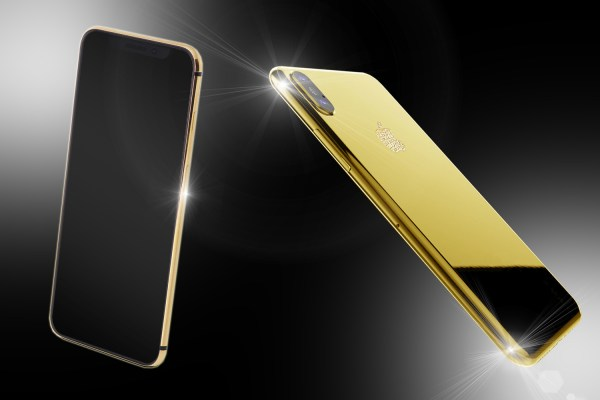 Stuart Hughes 24ct Gold Iphone Xs Unique Edition