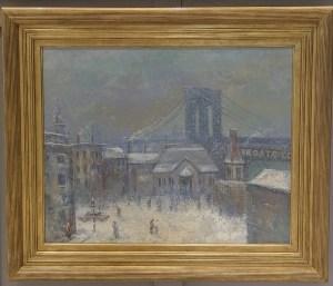 Winter, Brooklyn Bridge