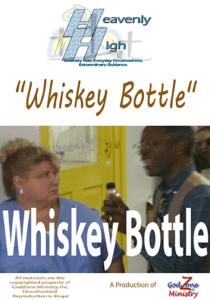 Whiskey Bottle HH 72