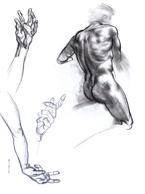 Sketchbooks :: Spirit & Force in Figure Drawing: A Guide